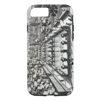 Fishponds at Villa d'Este, Tivoli, from 'Le Fontan iPhone 8/7 Case