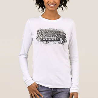 Fishponds at Villa d'Este, Tivoli, from 'Le Fontan Long Sleeve T-Shirt