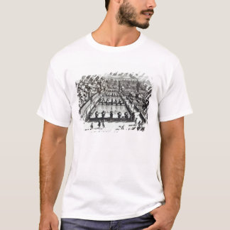 Fishponds at Villa d'Este, Tivoli, from 'Le Fontan T-Shirt