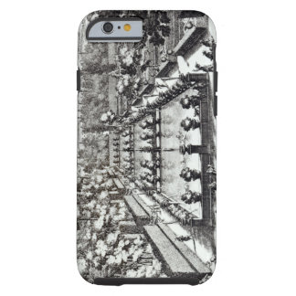 Fishponds at Villa d'Este, Tivoli, from 'Le Fontan Tough iPhone 6 Case