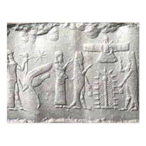 fishseal-sumerian postcard