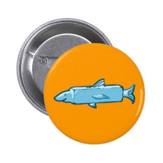 Fishstick Fish Button