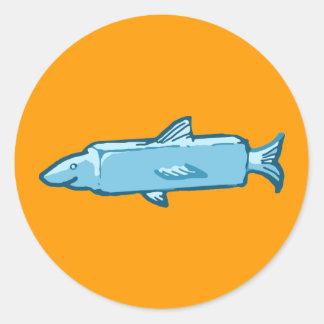 Fishstick Fish Classic Round Sticker