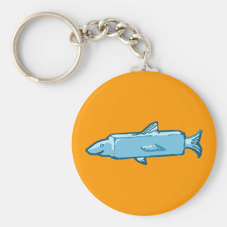 Fishstick Fish Keychain