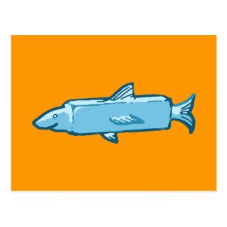 Fishstick Fish Postcard