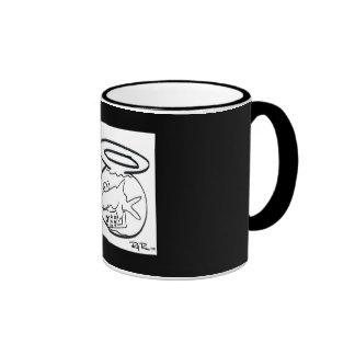Fishstix Luv Boat Ringer Coffee Mug