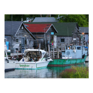 fishtown in Leland Postcard