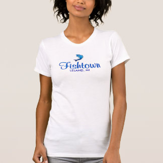 Fishtown -  Leland, MI Ladies Tank Top (Fitted)