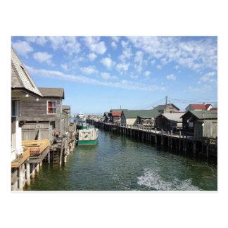 Fishtown, Leland, Michigan Postcard