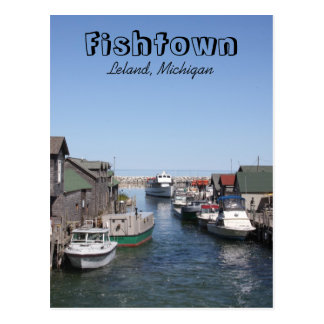 Fishtown Postcard