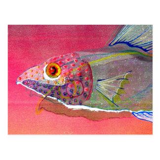 Fishy Alright Postcard