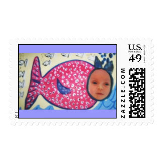 fishy baby stamps