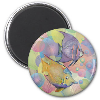 FISHY BUBBLES by SHARON SHARPE Magnets