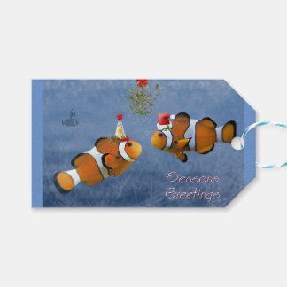 Fishy Christmas Gift Tags