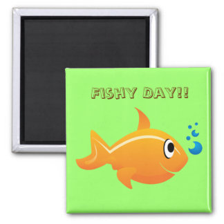 Fishy Day Magnet