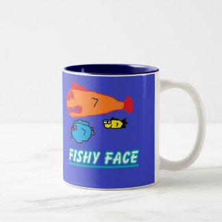 FISHY FACE mug