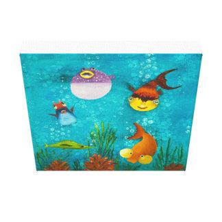 Fishy Fishy Canvas Print