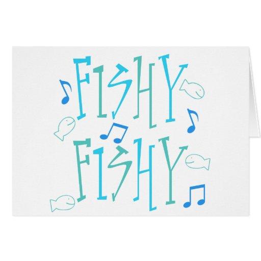 Fishy Fishy Greeting Card