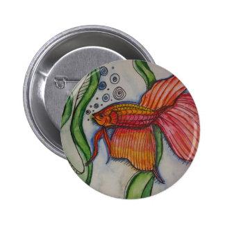 Fishy Fishy Pinback Button