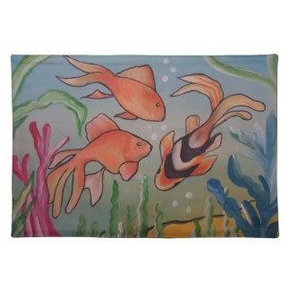 Fishy, Fishy Cloth Place Mat