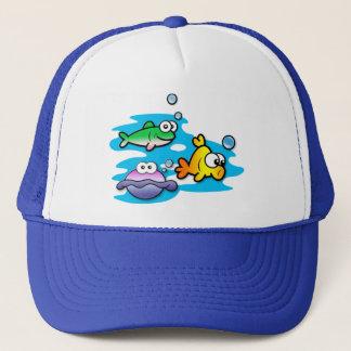 Fishy Friends Trucker Hat