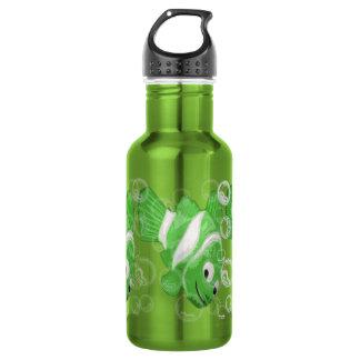FiShY (green) Water Bottle
