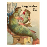 Fishy Mother's Day Postcard
