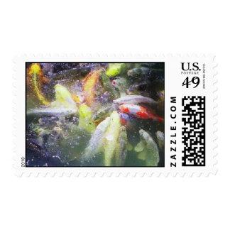 fishy postage stamp