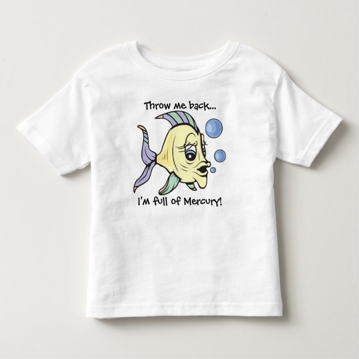 Fishy!  Text! Toddler T-shirt