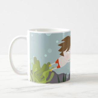 Fishy visit mug