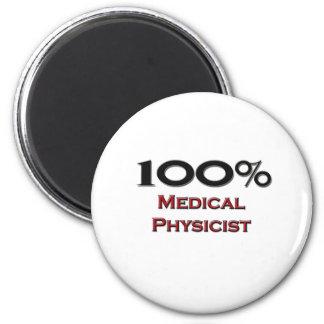 Físico médico del 100 por ciento imán redondo 5 cm