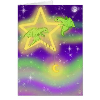 Fising para las estrellas tarjetas