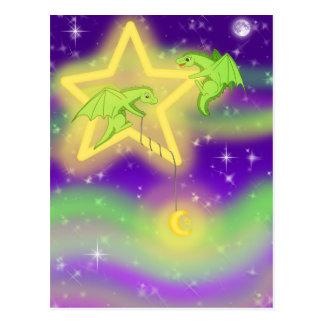 Fising para las estrellas postal
