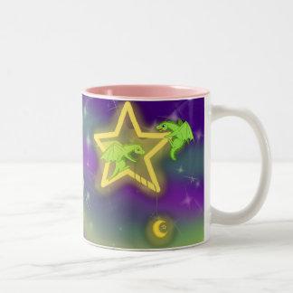 Fising para las estrellas taza de café