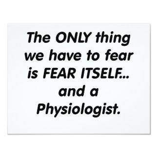 fisiólogo del miedo comunicado personal