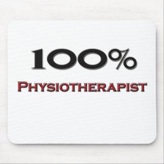 Fisioterapeuta del 100 por ciento alfombrilla de raton