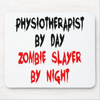 Fisioterapeuta del asesino del zombi alfombrilla de ratón