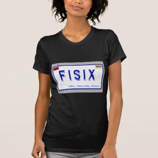 Fisix Licence Plate T-Shirt