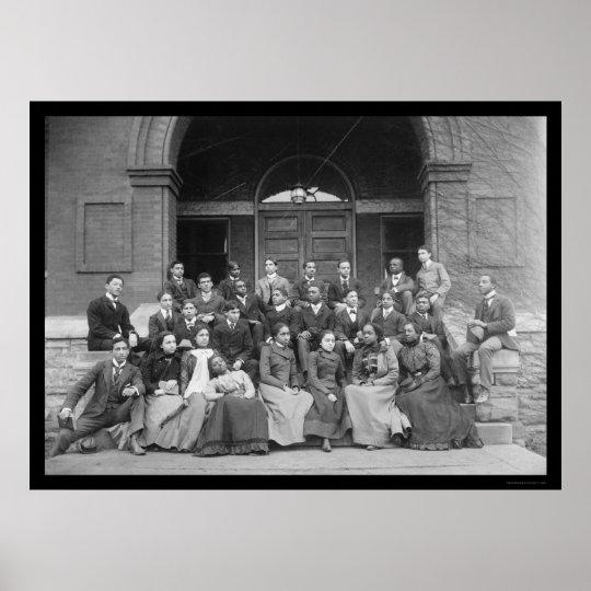 Fisk University in Nashville, TN 1900 Poster