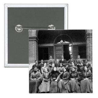 Fisk University Students: 1899 Pinback Button