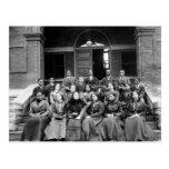 Fisk University Students: 1899 Postcard