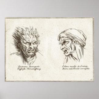 Fisonomía, estudio psicológico de caras póster
