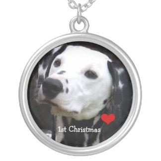 Fisrt Christmas Your Photo Necklace