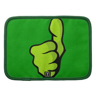 fist-160957 fist thumb finger top great green posi folio planners