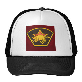 fist and red star hat