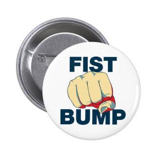 Fist Bump Pinback Buttons