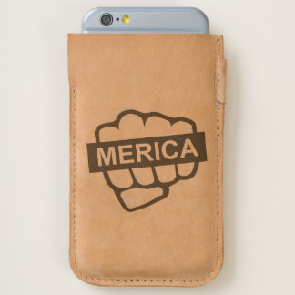 Fist Bump for Merica iPhone 6/6S Case