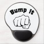 "Fist Bump It Gel Mouse Pad<br><div class=""desc"">You sure will impress the young folks with your hip fist bump handshake greeting.</div>"