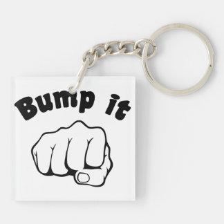 Fist Bump It Keychain