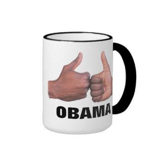 Fist-bump OBAMA mug